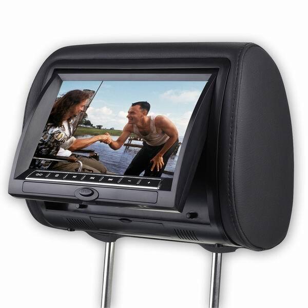 2 предмета x 7 дюймов подголовник автомобиля подголовник dvd плеер заднем сиденье Экран запасных Запчасти носители мультимедийного Развлечен
