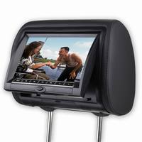 2 Pcs X 7 Inch Car Headrest Head Rest DVD Player Back Seat Screen Auto Spare Parts Media Multimedia Entertainment System