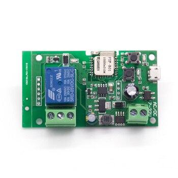 Sonoff Smart WiFi Remote Control DIY Wireless Switch Universal Module DC5V 12V 32V self-locking Wifi Switch Timer for Smart Home цена 2017