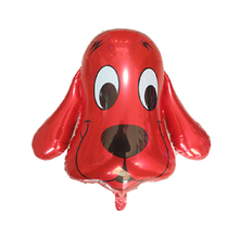 1pc Puppy Red Dog foil Balloons