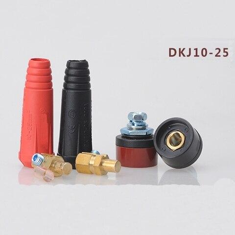 soldador acessorios de cobre puro dkj10 25 rapida plug e soquete do conector plug