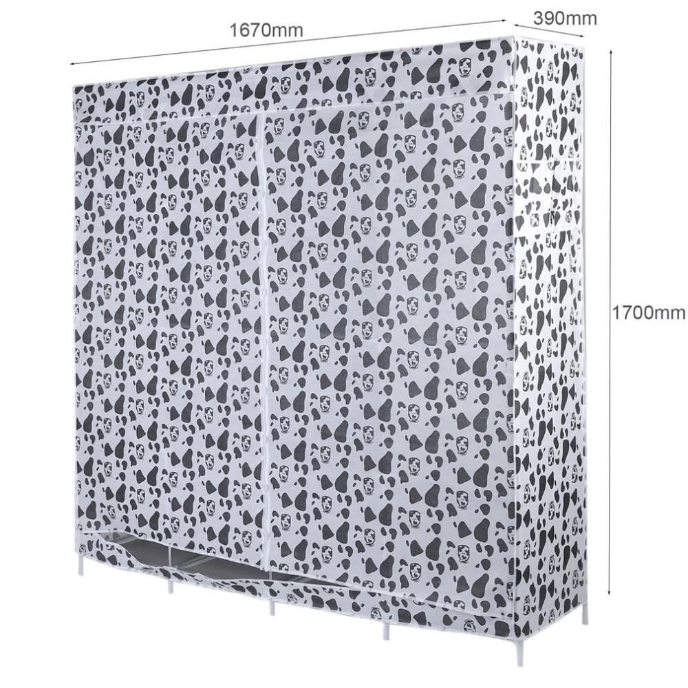 Multi-compartimiento Hogar Moderno simple no tejido anti-polvo ...