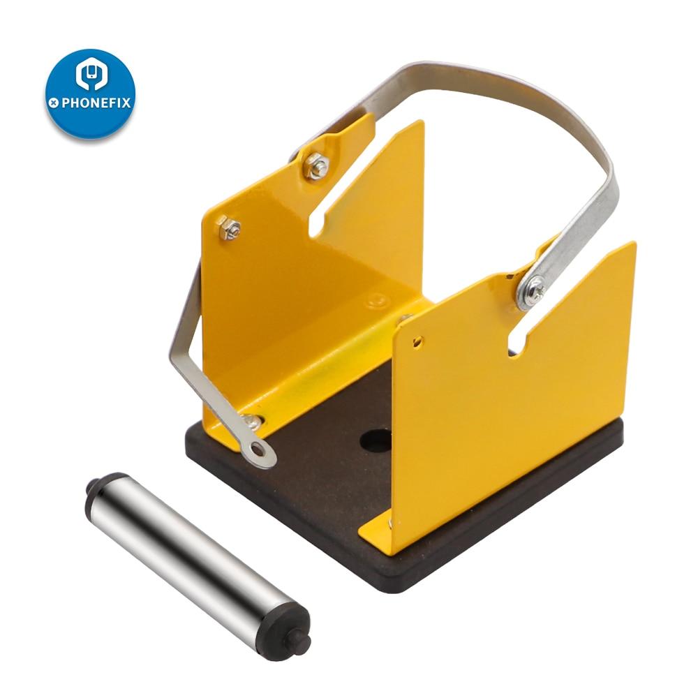 PHONEFIX Universal Metal High strength Solder Wire Stand Solder Tin Wire Stand Holder With Tin Holder Electric Welding Tool