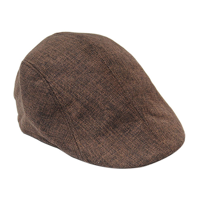 b91646a0d6a 5 Colors Mens Vintage Herringbone Flat Cap Boy Male Durable Sports Peaked  Riding Hat Beret Country Golf Hats Caps 1PC-in Golf Caps from Sports ...