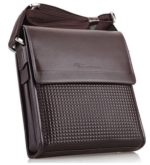 2016 Новые мужские из натуральной кожи сумка сумка портфель Бизнес мешок плеча crossbody сумка Дорожная сумка