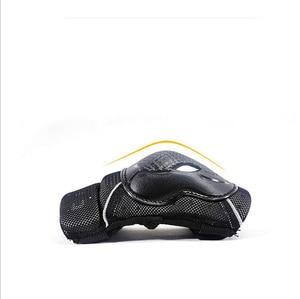 Image 3 - 6 stks/set beschermende patins Set Knie Elleboog Pads Pols Protector Skateboard Onderdelen Bescherming voor Scooter Fietsen Rolschaatsen