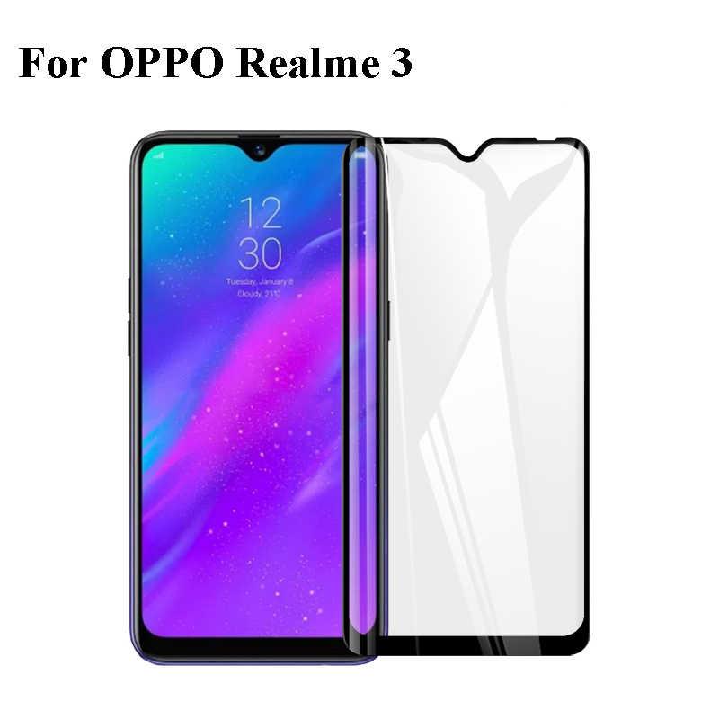 2.5D 9 9h プレミアムフル Oppo 用 Realme 3 保護フィルム強化ガラスのための Oppo Realme 3