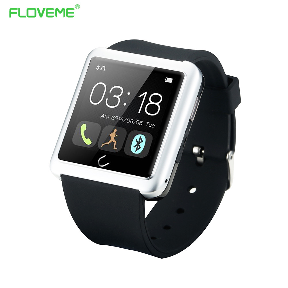 FLOVEME Bluetooth Smart Watch For iPhone Samsung Xiaomi Huawei Android Phone Wrist Wearable Device Heart Rate Sport Smartwatch