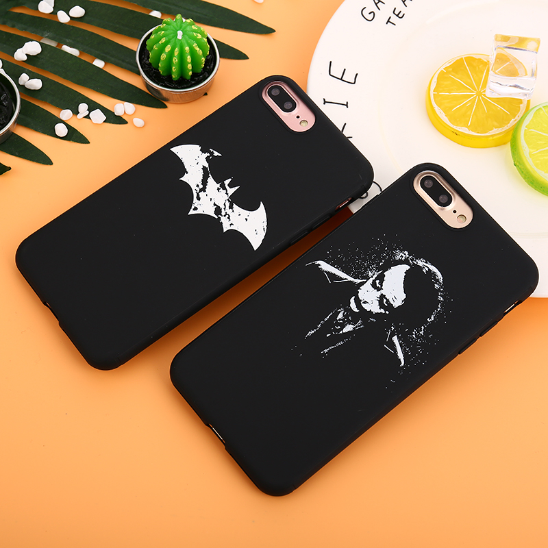 KMUYSL For iPhone 8 Case 6 6s Plus 8 7 X Luxury Painting Characters Cartoon TPU Cover For iPhone 6 7 8 Plus Cases