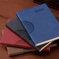 Old Fashion Leather Cover Notebook Office School Stationery 2017New Arrival