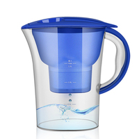 Portable Water Pitcher Pure Healthy Mineral Water with 1 Filter Jug Filter Kettle Water Jug with Filter Element