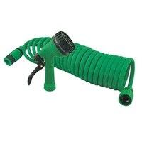 1PC Adjustable Green Spray Guns Garden Sprayer Portable High Pressure Guns Sprinkler Nozzle Water Guns With 15M Hose Car Washing