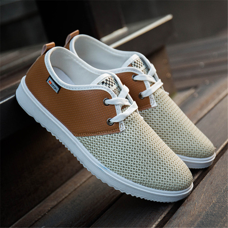 Summer Breathable Mesh Men's Shoes Lightweight Men's Running Shoes Fashion Casual Men's Shoes Brand Designer Men's Casual Shoes