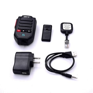 Image 4 - Baofeng BT 89 Handheld Wireless Bluetooth Microphone Speaker for QYT KT series Mobile Radio 10 Meters Receive Range Microphone