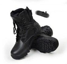 Для мужчин Армейские сапоги спецназ тактические пустыня сапоги в стиле «милитари» Уличная обувь армейские ботинки пехота пустыне тактические Ботинки