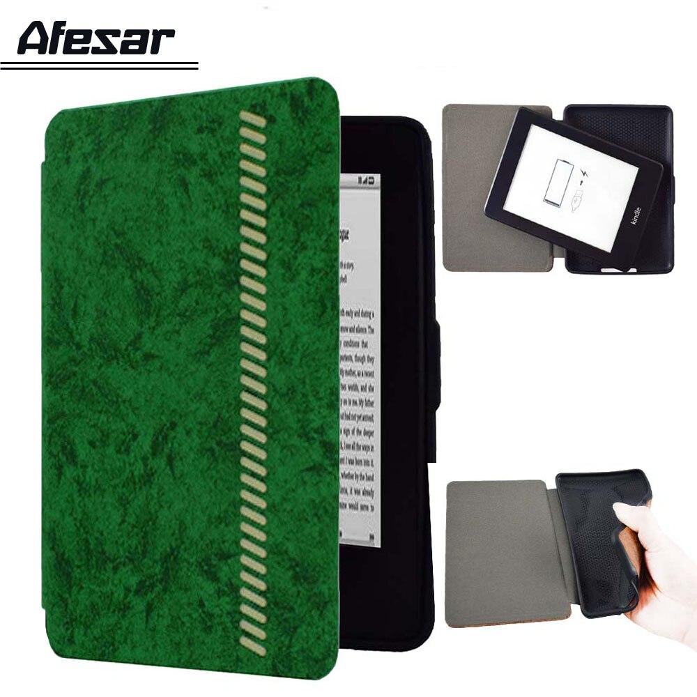Capac moale pentru Kindle Paperwhite 1 2 3 Silicone TPU Pu carte din - Accesorii tablete
