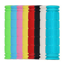12 cm Rubber Bicycle Handlebar Grips Fixie Fixed Gear Bike Rubber 8 Colors Bicycles Bar Grips Fixed Gear Bicycle Parts 7