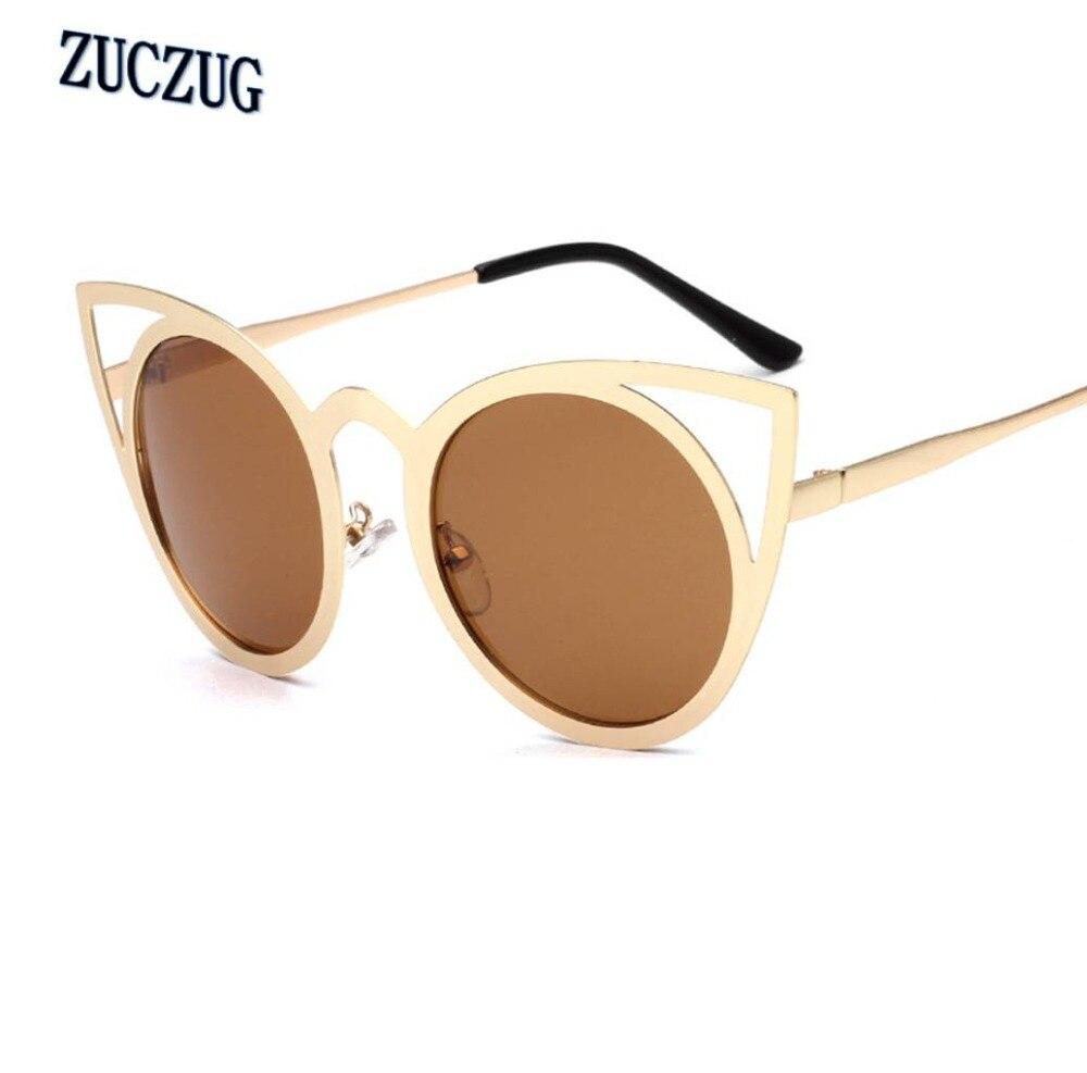 2017 Marca Designer Mulheres Óculos de Sol Para Senhoras Do Vintage Oculos  Cateye Olho de Gato Mulheres óculos de Sol Celebridades Colorido Lens  Feminino em ... 3d4310d2d9