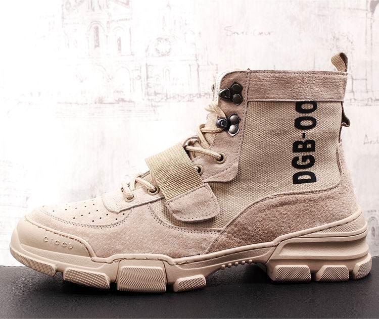 Británico 43 Para Zapatos Desierto Alta marrón negro Errfc Top Los Macho Ocio De Hombre Negro Beige Marrón Tobillo Botas Moda Adelante Casuales Hombres Estilo wCCf7RZq