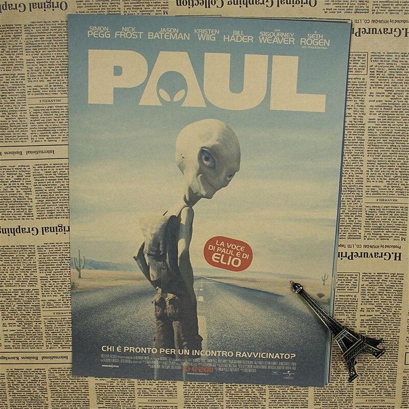 Nºsur Paul Vintage Papier Poster Film Classique Affiche Retro Papier
