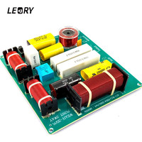 LEORY WEAH 3505 DIY 150W Professional 3 Way Audio Frequency Divider Loudspeaker 3 Unit Crossover Filter for KTV Stage Speaker