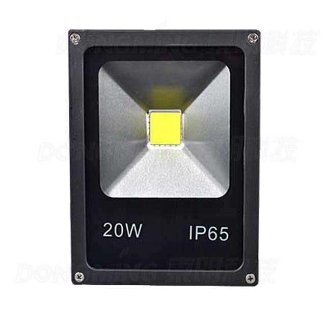 New Hot Outdoor Led Flood Light Bulbs Ac85 265v 1600lm Black Shell High Warm White 20w Spotlight Waterproof
