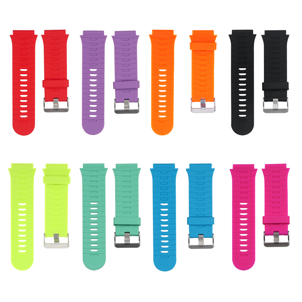 Colorful Silicone Wrist <font><b>Strap</b></font> Band for <font><b>Garmin</b></font> Forerunner <font><b>920XT</b></font> <font><b>Strap</b></font> with Original Srews+Utility Knife Smart Watch Wristband image