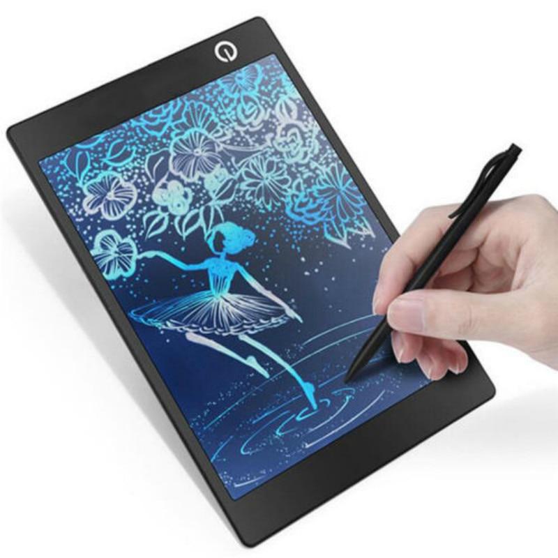 9.7 ''LCD Coloré Magnétique Conseil D'écriture Babillard Dessin Tablet Memo Message Numérique Graphique dessin pad jouet Enfants Cadeau
