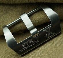 Diseño especial, 24 MM 22 MM 26 MM 316 de acero inoxidable reloj hebilla, Xmen corchete hebilla reloj correa bandas para PAM y grande piloto de reloj