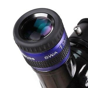 Image 5 - Angeleyes szeroki okular SWA 70 stopni bardzo szeroki kąt achromatic 1.25 cal teleskop akcesoria duża ogniskowa