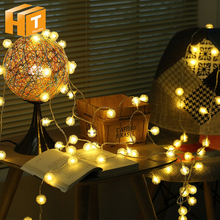 Dandelion Ball LED String Lights 5m 50LEDs / 10m 100LEDs Decoration Lighting Festival Christmas