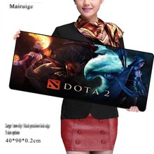 Mairuige DOTA 2 Anti-slip Mouse Pad Design Gamer Pc Large Gaming Laptop Top Selling Best Mouse Pad Black Paint Rubber Mouse(China)