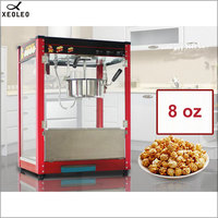 XEOLEO 8 унций попкорн электрическая машина для попкорна в американском стиле автоматическая машина для попкорна с горячим маслом антипригарн