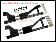CNC Aluminum Upper Arms for the Traxxas X-Maxx Truck