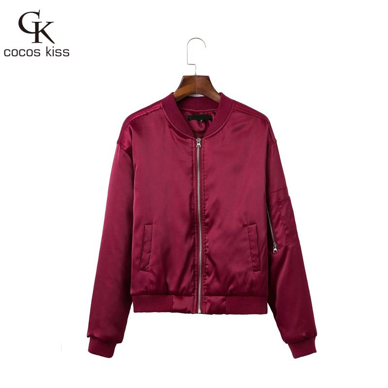 Popular Womens Bomber Jackets Quilted-Buy Cheap Womens Bomber ...