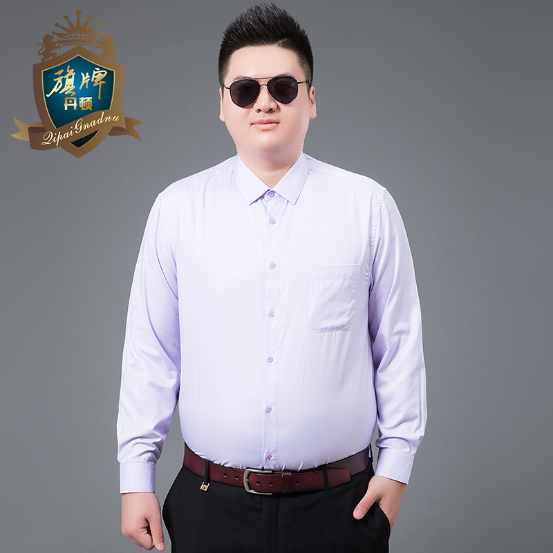 2018 Lente Lange Mouwen Shirts Mannen Jurk In Mens Casual Shirts Print Mannen Mode Slim Fit Overhemd Grote Size 7xl-xl Brand Design Up-To-Date Styling