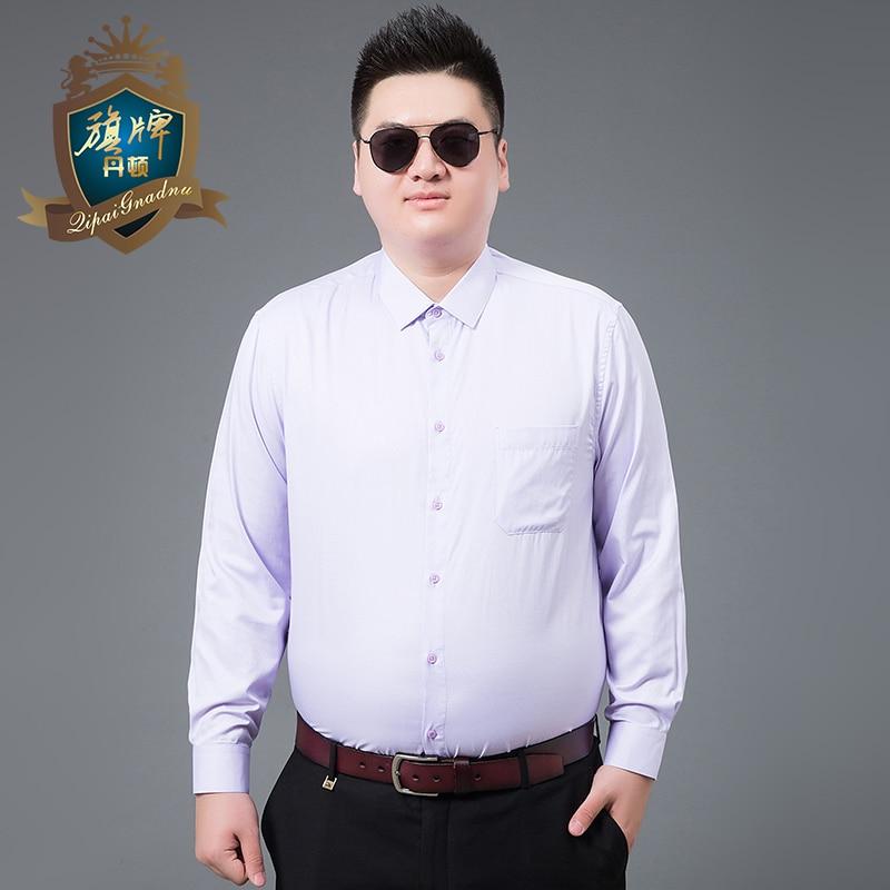 2018 Frühling Langen ärmeln Shirts Männer Kleid In Mens Casual Shirts Druck Männer Mode Slim Fit Shirt Große Größe 7xl-xl Marke Design