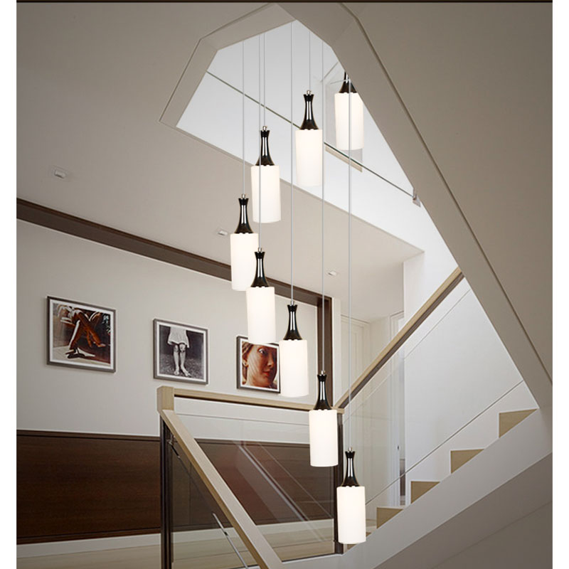 Lighting Basement Washroom Stairs: Stairs Lights Staircase Pendant Lights Modern Minimalist