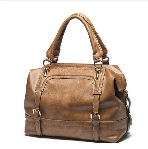 ФОТО New Luxury Women Handbags Quality Genuine Leather Ladies Handbags Famous Brand Designer Women Casual Tote Clutches