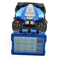 цена на Germany BY-A6 FTTH fast splicing welding machine  waterproof fusion splicer equal INNO view 5