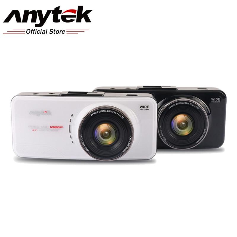 Anytek AT66A 1080P Full HD Novatek 96650 Car Camera DVR Recorder Dashcam 170 Degree Supper Night Vision Dash Cam Car Registrator автомобильный видеорегистратор anytek at66a 2 7 hd g wdr gps novatek96650 dashcam dvr gps