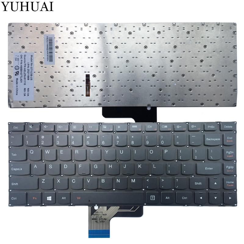 NEW US keyboard FOR LENOVO IdeaPad U430 U430P U330 U330P U330T US Laptop keyboard with backlit