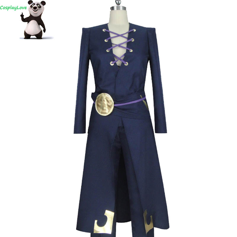 CosplayLove JoJo's Bizzare Adventure Leone Abbacchio Cosplay Costume Custom Made For Christmas Halloween