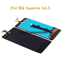 """4.5"""" For BQ Aquaris A4.5 LCD display + touch screen components replaced with a4.5 glass screen repair parts free shipping+tools"""