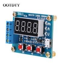 OOTDTY ZB2L3 литий-ионный свинцово-кислотный аккумулятор измеритель заряда тестер анализатор