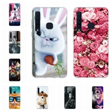 For Samsung Galaxy A9 2018 A920F A9200 Case TPU Star Pro Cover Dog Patterned A9s Funda