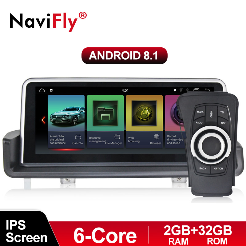New! PX6 ID7 Android 8.1 6 Core Car radio audio multimedia player for BMW 3 Series E90 E91 E92 E93 GPS Navigation WIFI BT DVR