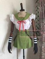 Gakkou Gurashi! Ebisuzawa Kurumi Uniforms Cosplay Costume Free Shipping