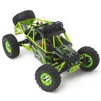 Mejor 1/12 4WD oruga RC coche con luz LED RTR 2,4 GHz control remoto carreras fuera del país con Motor de cepillo 50 KM/H