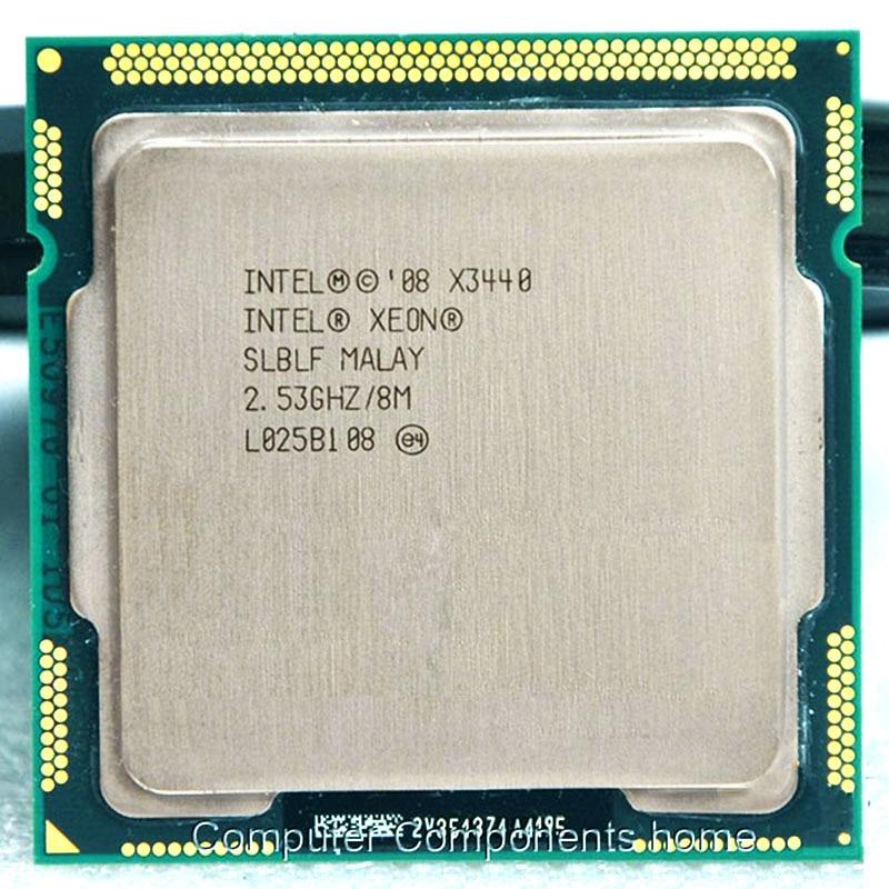 все цены на  Intel Xeon X3440 CPU  Xeon Processor X3440 (8M Cache, 2.53 GHz)) LGA1156 Desktop CPU  онлайн